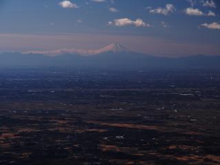 女体山からの富士山