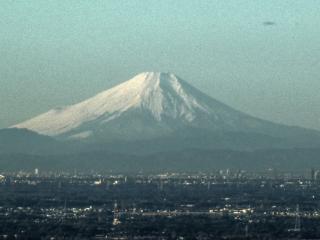 表筑波からの富士山 HDR