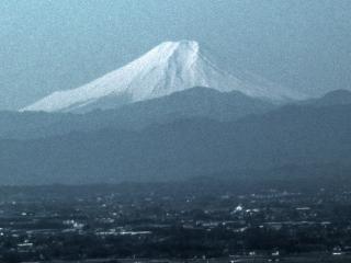 唐沢山からの富士山 HDR