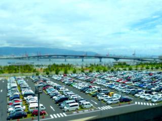 神戸空港の駐車場