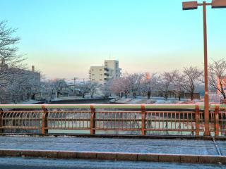 雪の朝 HDR2