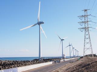 ウィンド・パワーかみす洋上風力発電所