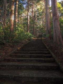 愛宕山神社 参道 HDR