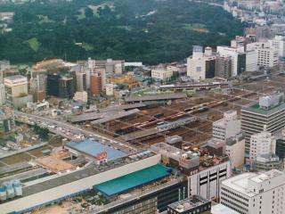 1982年頃の新宿駅