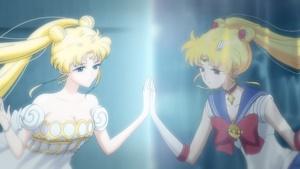プリンセス・セレニティとセーラームーン