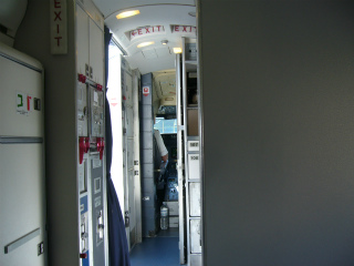デルタ航空国内線ファーストクラス