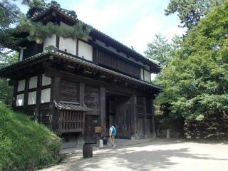 弘前城南内門