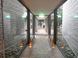 星野リゾート 界 津軽 渡り廊下