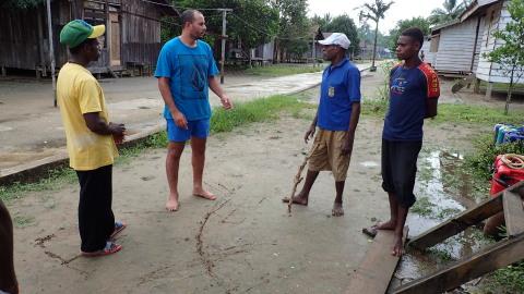 インドネシア、ウエストパプア釣行 その4