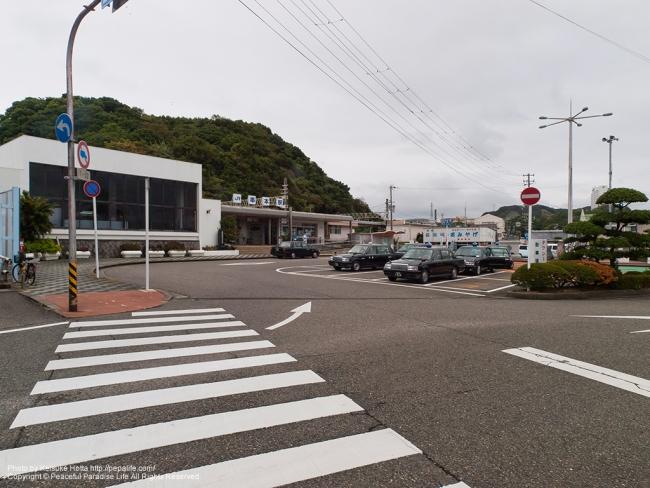 串本駅の全景