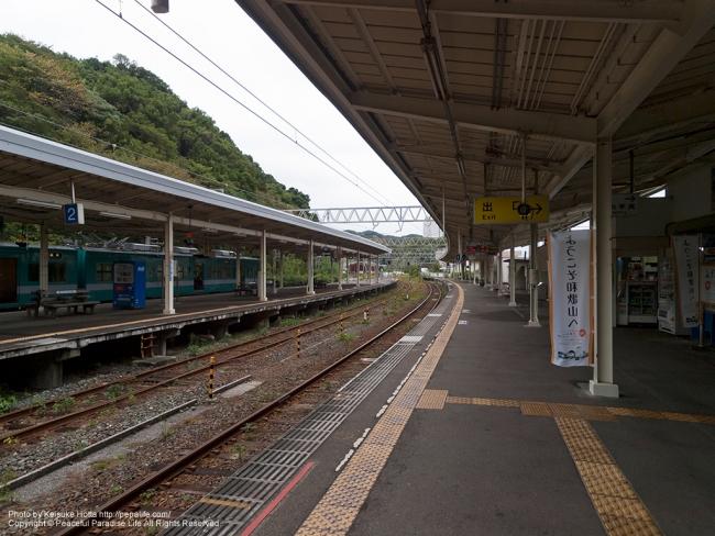 串本駅のホーム