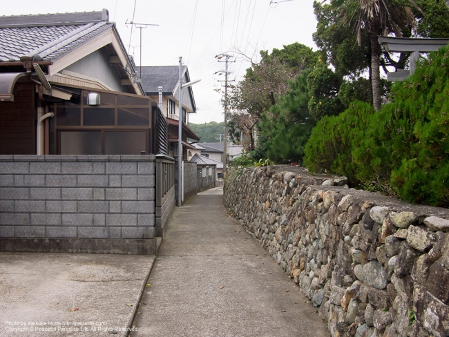 串本町の住宅地