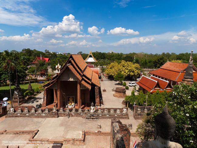 ワット・ヤイ・チャイ・モンコン(Wat Yai Chaya Mongkol)