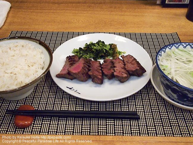 仙台駅 利久の牛タン定食