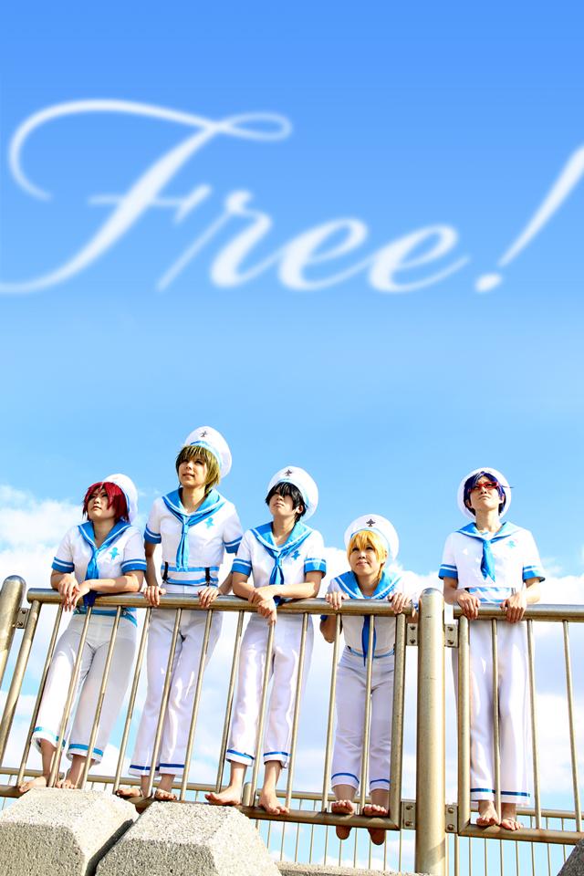 Free! 水兵衣装のロケ撮影 【9/29撮影】