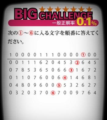 エクセレントクイズのBIGチャレンジ問22