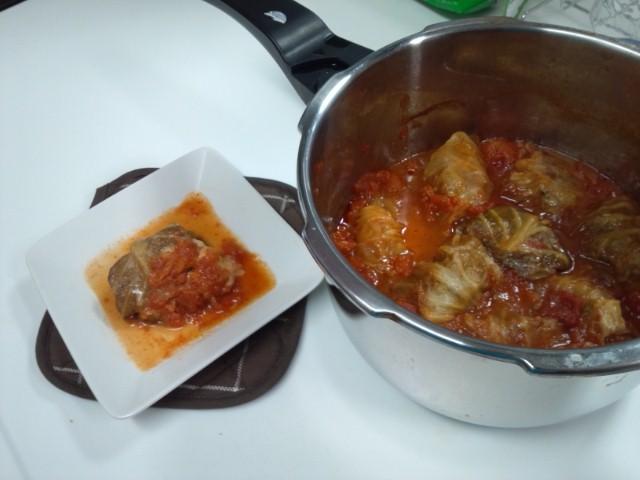 母の料理、ロールキャベツ