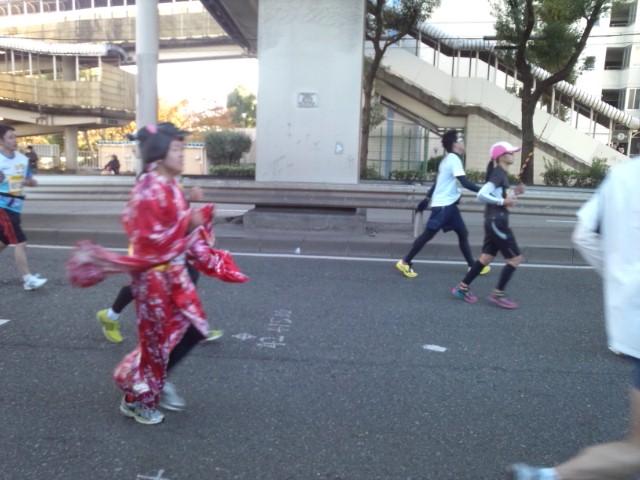 元気と感動をくれた大阪マラソン