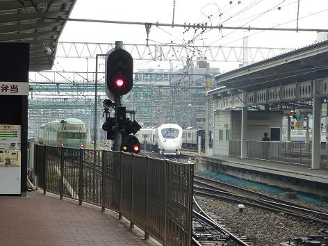 小さなお話し(博多駅にて)885系