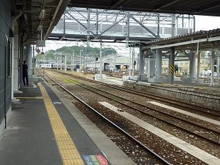 直方駅 (2012年11月4日)