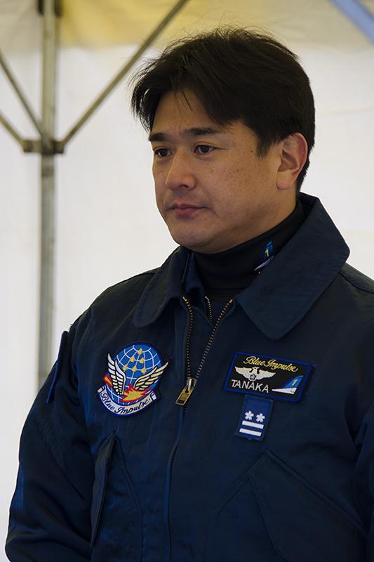 ブルーインパルス 1番機 田中隊長