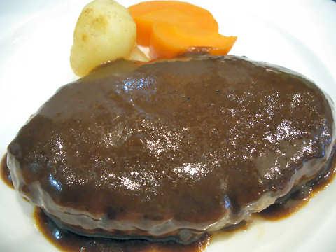 ハンバーグステーキ@洋食屋マーサン