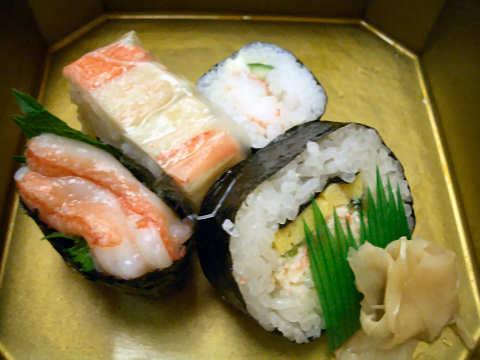 かに寿司@かに道楽