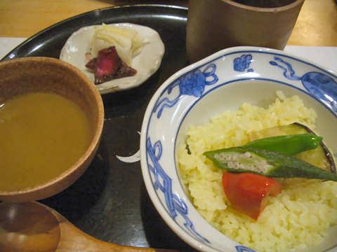 夏野菜のカレー@撫子