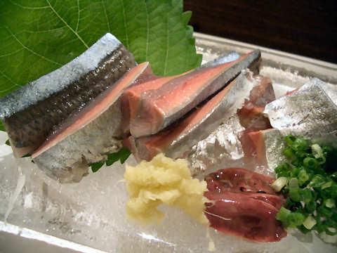 秋刀魚のお造り@和