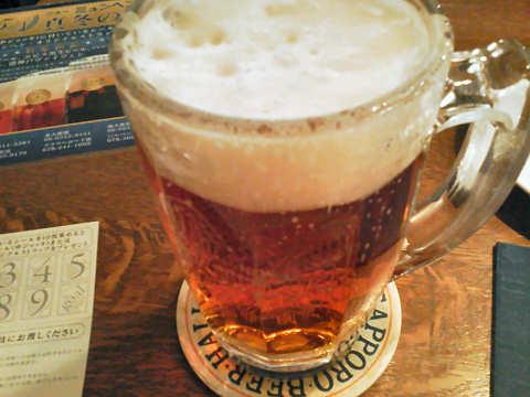 大使館ビール中ジョッキ@ニューミュンヘン