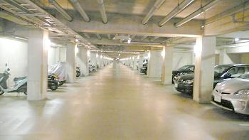 パシフィックガーデン茅ヶ崎地下駐車場