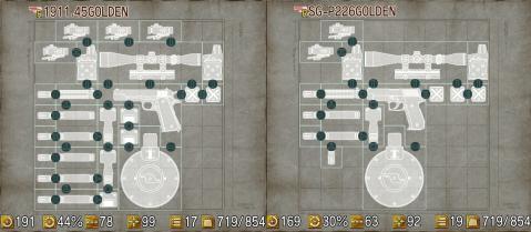 チョイポリス3 武器カスタマイズ例