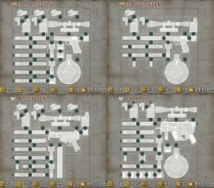 チョイポリスラスト武器カスタマイズ例